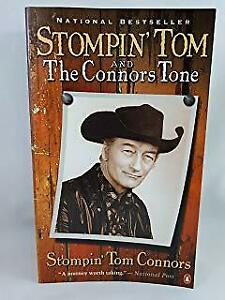 RARE STOMPIN' TOM CONNORS AUTOGRAPHED FIRST PRINTING BOOK