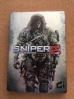 sniper ghost warrior xbox 360 metal case