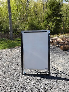 White Board with Stand Great for Home Office or Business