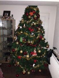 8ft Canadian Pine Christmas Tree