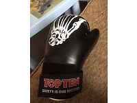 TOPTEN SAFETY IS OUR SUCCESS BOXING GLOVES