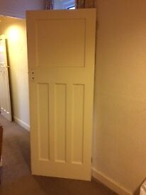 Six original internal doors, just right for stripping and staining.