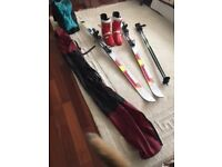 Skis, Boots & Bindings