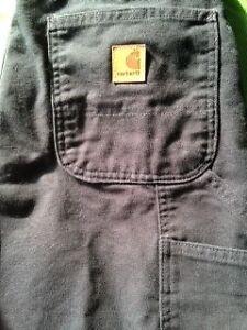 2 pairs Men's Carhartt work pants London Ontario image 1