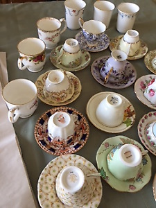 Bone China Cups and Saucers