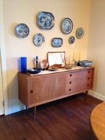 TEAK FUNITURE CANADIAN PAINTING 50S 60S 70S WATCHES AND ANTIQUES