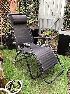 newest daa7f 2674b Argos Home 2 Pack of Garden Loungers - Black | in Attleborough, Norfolk |  Gumtree