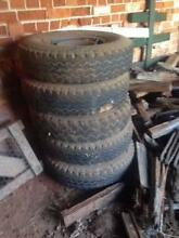 5 x 7.50R16LT Tyres Mudgee Mudgee Area Preview