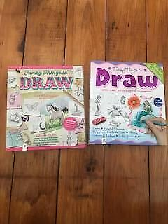 Set of 2- How to draw books