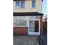 LET BY - 3 BEDROOM SEMI DETACHED HOUSE - ABBOTTS DRIVE - SNEYD GREEN - STOKE ON TRENT-LOW RENT
