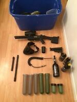 Tippmann A-5 with Accessories - PRICED TO GO