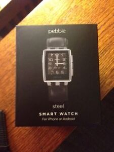 Pebble Steel watch London Ontario image 2