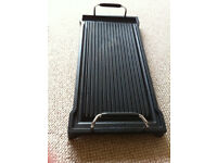 Smeg Cast Iron Griddle GC120 In Excellent Condition, Barely Used £25
