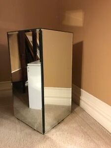 Mirrored accent table London Ontario image 1