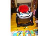 baby car walker black