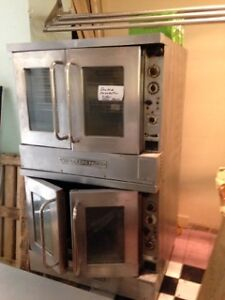 "ELECTRIC DOUBLE CONVECTION OVEN ""US RANGE"" MODEL"
