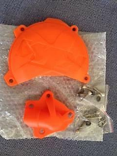 KTM Side Case & Water Pump Covers (to suit 2011 to 2016)
