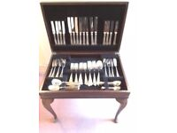 Canteen of Silver Plated Cutlery, 74 pieces