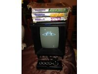 RETRO VEXTREX CONSOLE WITH GAMES