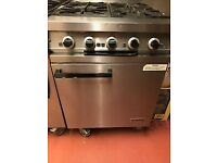 Four Burner Falcon Dominator Cooker & Oven