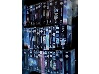 40 collection Doctor Who VHS videos