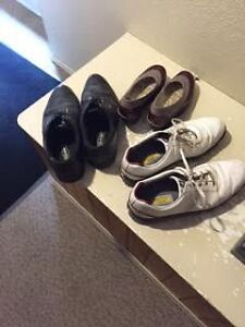Womens FLY shoes and 2 pairs of mens golf shoe size 14