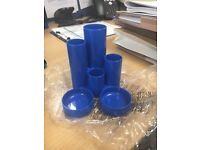 Blue Office Desk Tidy - 16 Available