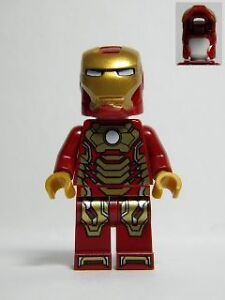 Lego Iron Man 3 Minifigure Mark 42 Armor from Set 76007 ...
