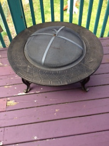 Fire Pit - Waiting for a new home for it's first backyard fire!