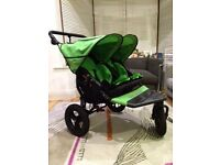 Out n About Nipper Double V4 Mojito Green Buggy