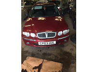 Rover 45 Impression S3 1.6 petrol 2003 Breaking for parts