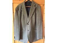 "Men's grey tweed Tommy Hilfiger blazer (size 44"" regular)"