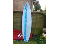 Surfboard Malibu Popout with carry case
