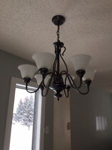 Antiqued Silver Ceiling Lamp
