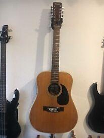 Vintage Terada 12 String Guitar