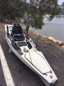 fishing kayak peddle Hobie Mirage Pro Angler 14 Pretty Beach Gosford Area Preview