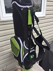 New Green Golf Bag with Stand. Never Used.