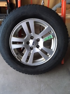 17 inch Nordic Winter Tires on Ford Rims