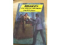 Biggles of the special Air Police Hardcover Book