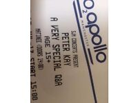 Peter Kay O2 Apollo Manchester 15th July 2017 14:00 1 ticket £33