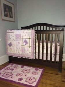 Cocalo Sugar Plum Crib bedding set