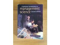 A Practical Intro to Management Science 2nd Edition