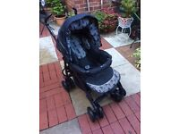 Silver Cross pram and car seat for sale. Both in excellent condition.