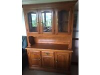 Sideboard and Display unit (Welsh dresser)