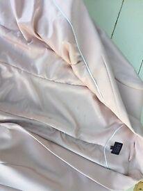 Dusty pink jacket, shoes, hat & handbag for wedding