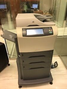 4 HP and 1 Ricoh Aficio office Printers $2000 Or Best Offer