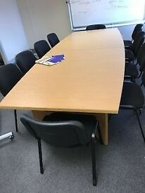 ***Boardroom Table & 10 Chairs***