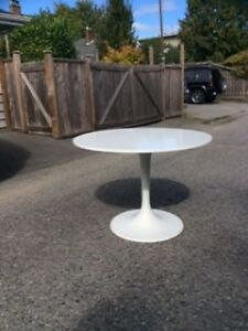 Round Ikea Table for Dining, Work or Feature Table