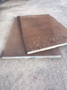 gravel screens, used