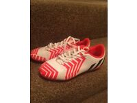 Adidas Boys Football Boots Size 4